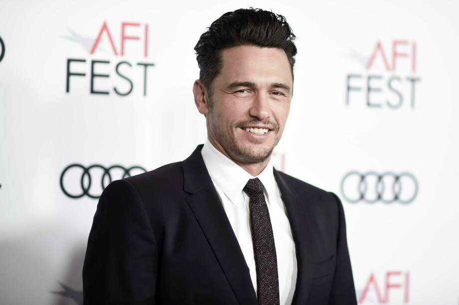 "FILE - In this Nov. 12, 2017 file photo, James Franco attends the centerpiece gala presentation of ""The Disaster Artist,"" in Los Angeles. Several women have made further claims of sexual inappropriateness against James Franco in a Los Angeles Times article. In the report published Thursday, Jan. 11, 2018, two former student actresses described negative on-set experiences with the actor-filmmaker while being directed by him. Sarah Tither-Kaplan said in a nude orgy scene three years ago, he removed plastic guards covering the actresses' groins while simulating sex. Photo: Richard Shotwell / 2017 Invision"
