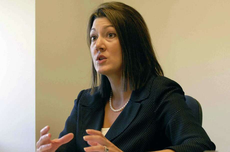 Cohoes judge Andra Ackerman in a 2008 file photo. (Michael P. Farrell/Times Union archive) Photo: Michael P. Farrell / 00000693A