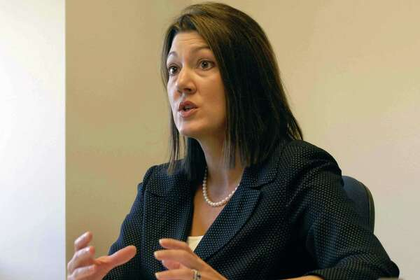 Cohoes judge Andra Ackerman in a 2008 file photo. (Michael P. Farrell/Times Union archive)