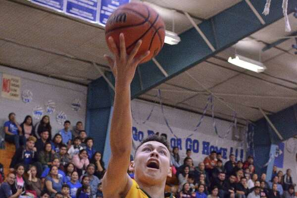 Junior A.J. Melendez hit five 3-pointers in Nixon's 81-52 victory over Sharyland Pioneer Saturday afternoon.