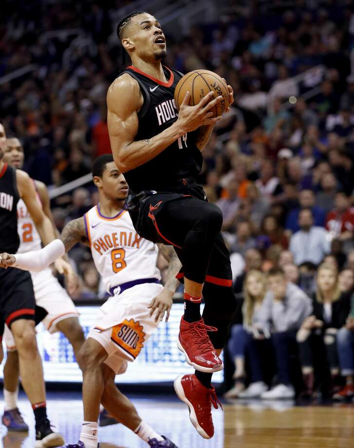 The signing of Gerald Green has helped the Rockets wade through injuries in fine fashion. Photo: Matt York/Associated Press