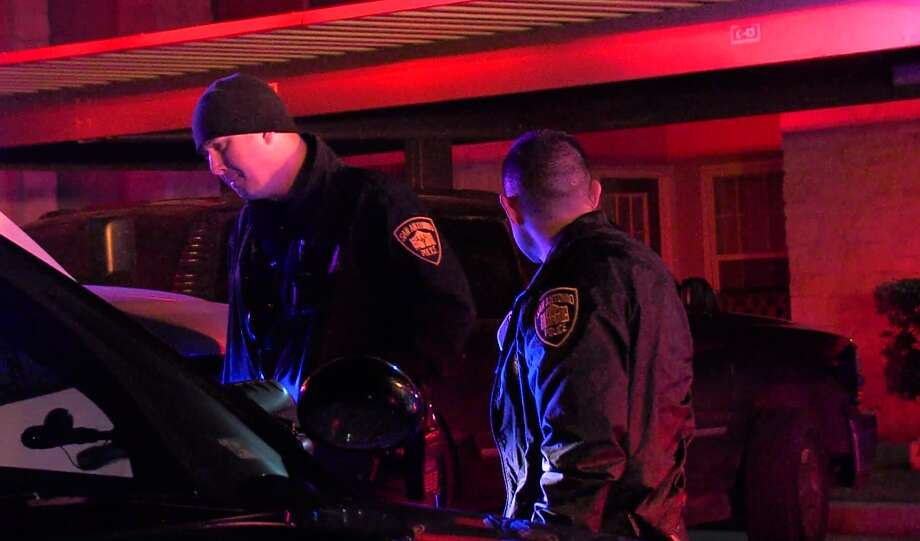 San Antonio police say two men opened fire on four others at an East Side apartment complex Friday night, Jan. 12, 2018, wounding two. Photo: 21 Pro Video