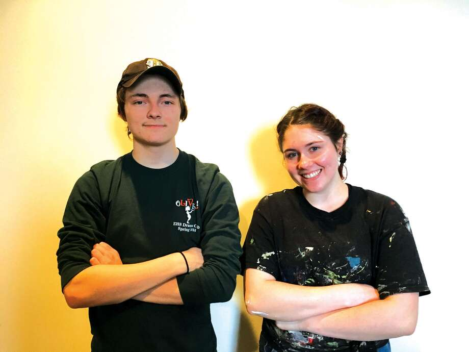 Cole Frizzo, left, and Meghan Ide in Normal. Photo: For The Intelligencer