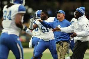 Bradley Dale Peveto  The University of Kentucky football team fell to Vanderbilt 22-6 on Saturday, November 16, 2013, at Vanderbilt Stadium in Nashville, TN.  Photo by Chet White | UK Athletics