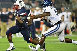 Former Uconn running back Arkeel Newsome will be a member of the National team in Sunday's Tropical Bowl in Daytona Beach, Florida