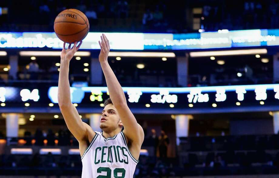 BOSTON, MA - MARCH 09:  R.J. Hunter #28 of the Boston Celtics hits a three point shot during the fourth quarter against the Memphis Grizzlies at TD Garden on March 9, 2016 in Boston, Massachusetts. The Celtics defeat the Grizzlies 116-96. NOTE TO USER: User expressly acknowledges and agrees that, by downloading and/or using this photograph, user is consenting to the terms and conditions of the Getty Images License Agreement.  (Photo by Maddie Meyer/Getty Images) Photo: Maddie Meyer/Getty Images