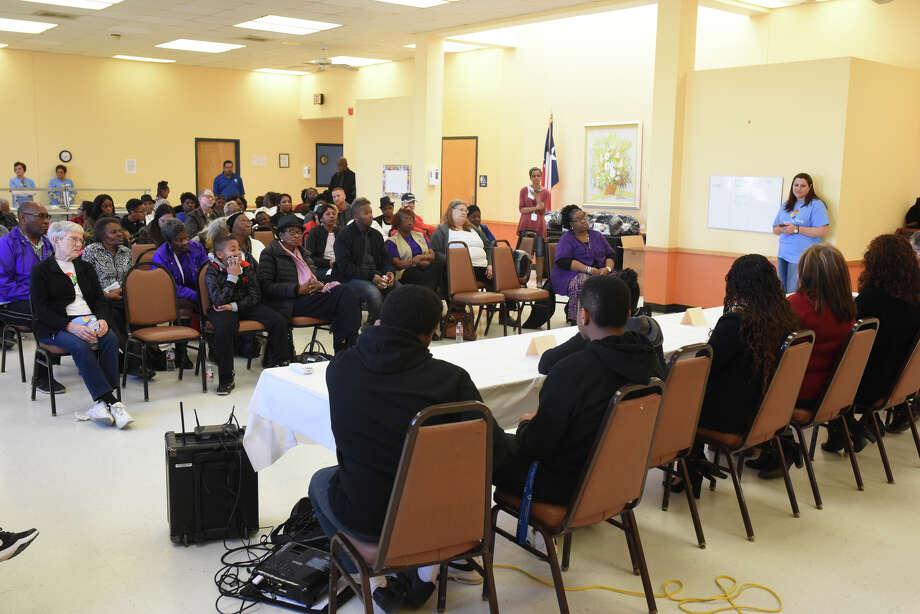 Community event honoring Martin Luther King, Jr. Jan. 13, 2018, at the Souteast Senior Center. James Durbin/Reporter-Telegram Photo: James Durbin