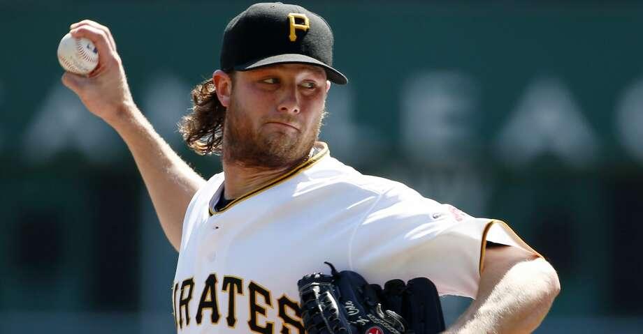 The Astros have traded for pitcher Gerrit Cole. Photo: Gene J. Puskar/AP