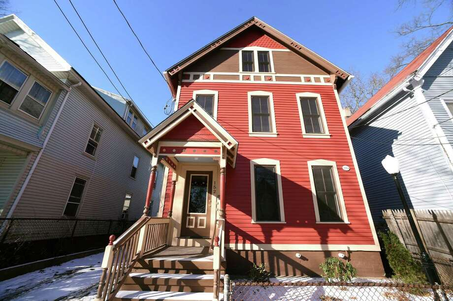 One of the recent houses rehabbed by Neighborhood Housing Services of New Haven is at 152 Newhall St. in New Haven. The buyer is awaiting mortgage approval.. Photo: Arnold Gold / Hearst Connecticut Media / New Haven Register