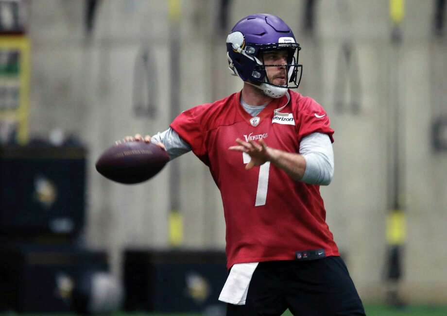 Vikings quarterback Case Keenum has led the way to a 13-3 record, the franchise's most regular-season wins in 19 years, since taking over for injured starter Sam Bradford. Photo: Jim Mone, STF / Copyright 2018 The Associated Press. All rights reserved.