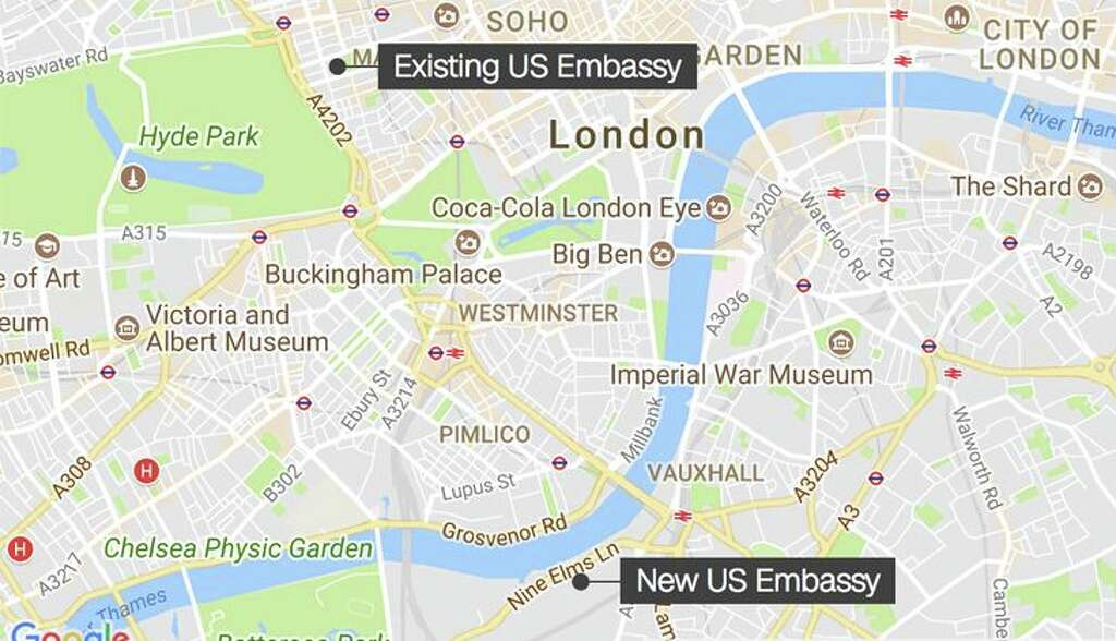 Former US Embassy in London to become luxury Rosewood Hotel SFGate