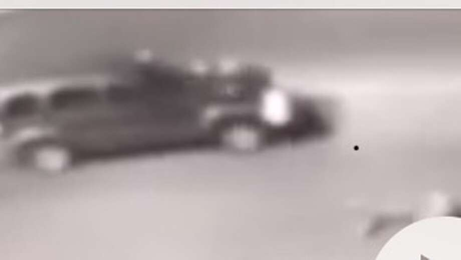Laredo police said this surveillance video image shows the vehicle that they believe struck a 67-year-old female pedestrian at about 7 p.m. Saturday, Jan. 13, 2018 in the 3100 block of Springfield Avenue. Photo: LPD/Courtesy Photo