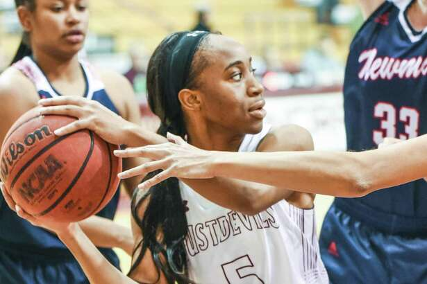 Junior guard Passionate Amukamara scored a team-best 14 points Saturday as the Dustdevils lost 77-57 at Rogers State. TAMIU has lost 10 straight games and 22 consecutive on the road.