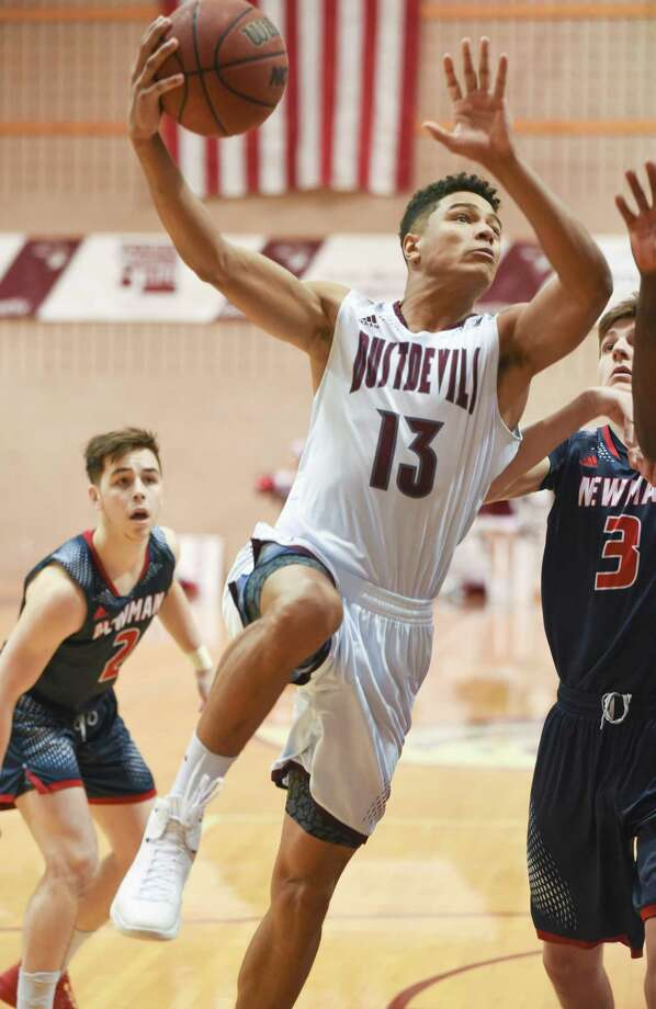 Xabier Gomez tied a career-high with 26 points leading TAMIU to a 72-64 win over Talladega College to end the St. Mary's Thanksgiving Classic in San Antonio. Photo: Danny Zaragoza /Laredo Morning Times File