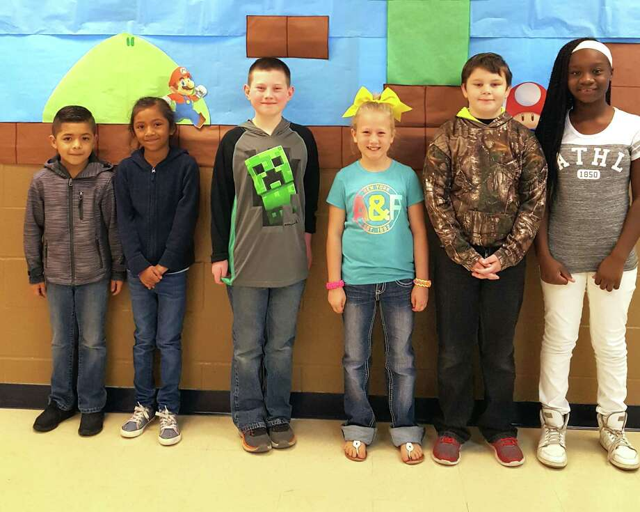 Each week a Shepherd ISD teacher picks two students from their class who show Pirate Pride by being helpful and respectful to teachers and peers. The following students received Shepherd Intermediate Pirate Pride this week: Marisol Valdez, Yahir Orozco, Dakiyah Clark, Nathaniel Lanning, Logan Smith and Chloe Fuller. Photo: Submitted