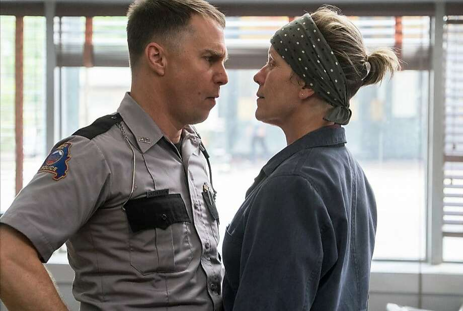 """Sam Rockwell and Frances McDormand are getting Oscar buzz for """"Three Billboards Outside Ebbing, Missouri."""" Photo: Merrick Morton, Fox Searchlight Pictures"""