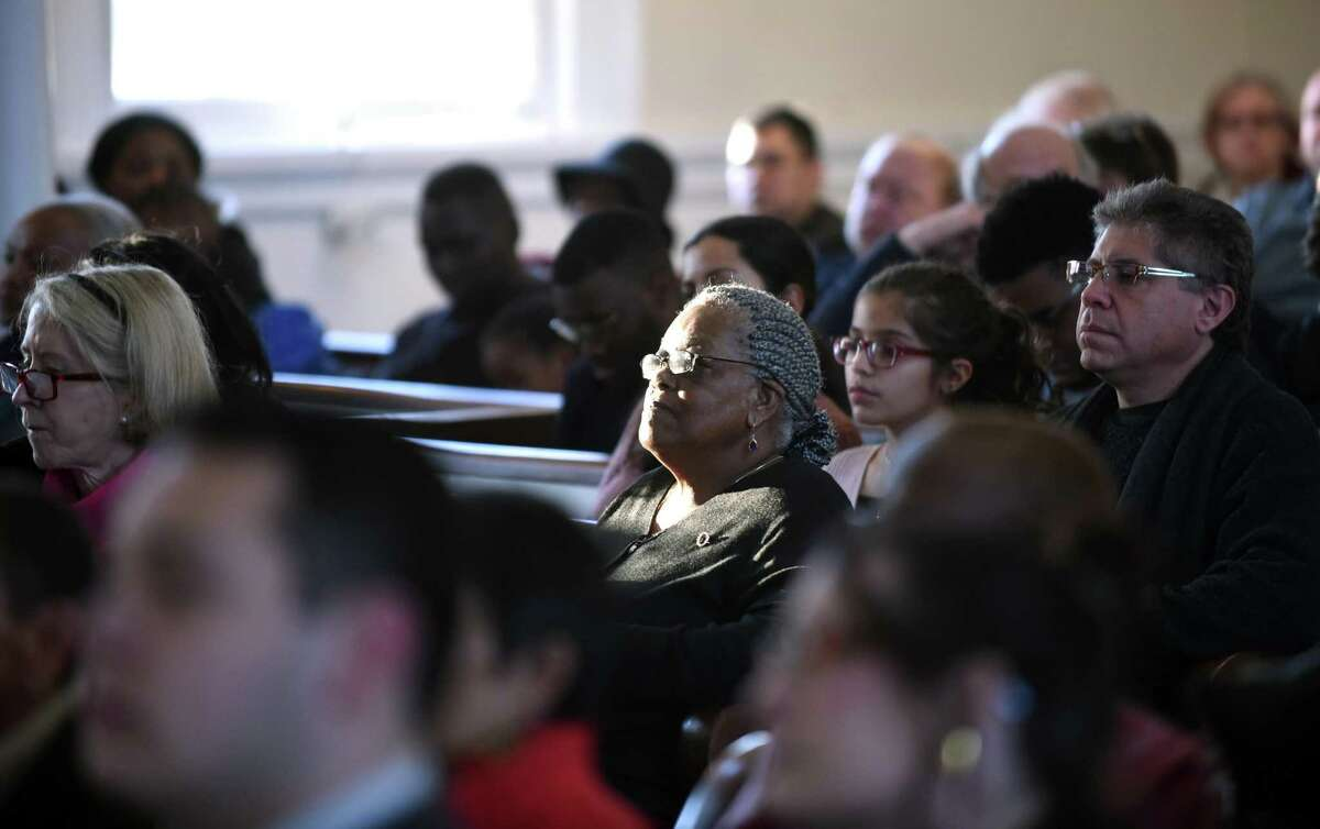 The West Haven Black Coalition's 32nd annual tribute to The Rev. Dr. Martin Luther King, Jr., at the First Congregational Church in West Haven on January 14, 2018.