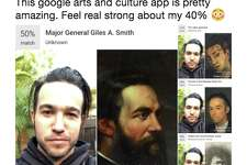 """Musician Pete Wentz tweeted out a few of the doppelganger suggestions from Google, calling the app """"pretty amazing."""""""
