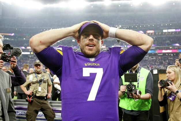 Case Keenum, Abilene Wylie (2012-present)  NFL playoff record: 1-1 (Vikings) Photo: Jamie Squire, Staff / 2018 Getty Images