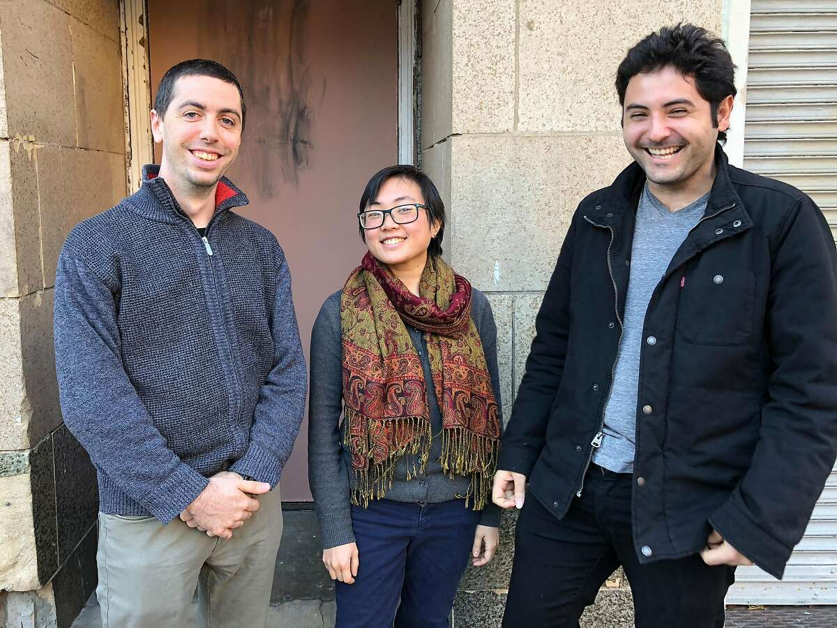 Three young Bay Area improvisers and composers mentored in Jazz in the Neighborhood's Emerging Arts program -- Dillon Vado (l), Erika Oba and Ian Faquini -- will each lead a quintet Feb. 16 at the San Francisco Community Music Center.