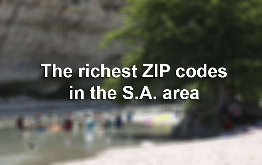 The Economic Innovation Group's 2017 Distressed Communities Index report shows which areas of San Antonio are doing well and which are doing not so well economically.  Click ahead to view the most affluent ZIP codes in the San Antonio area. Photo: FILE