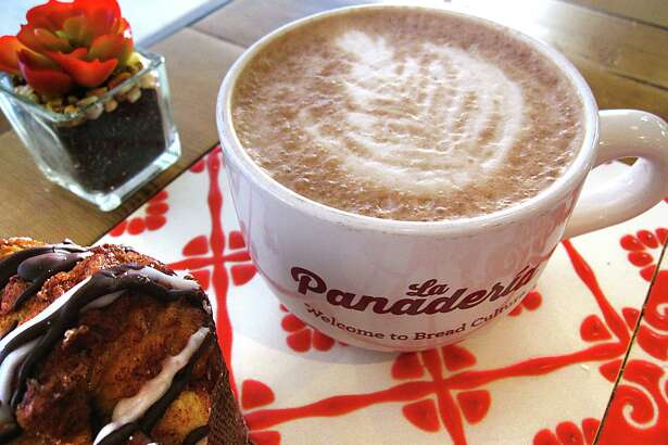 Mexican hot chocolate / La Panadería: Cinnamon makes the difference at this downtown bakery with the top-flight coffee bar. It turns the hot chocolate into liquid pan dulce with sweet, milky icing and a spicy finish ($3.75). 301 E. Houston S., 210-592-6264, lapanaderia.com  For Mike Sutter's hot chocolate roundup.