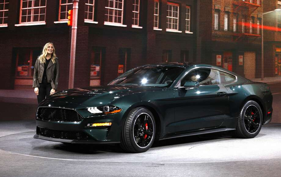 Molly Mcqueen Granddaughter Of Iconic Actor Steve Introduces The 2018 Ford Mustang Bullitt
