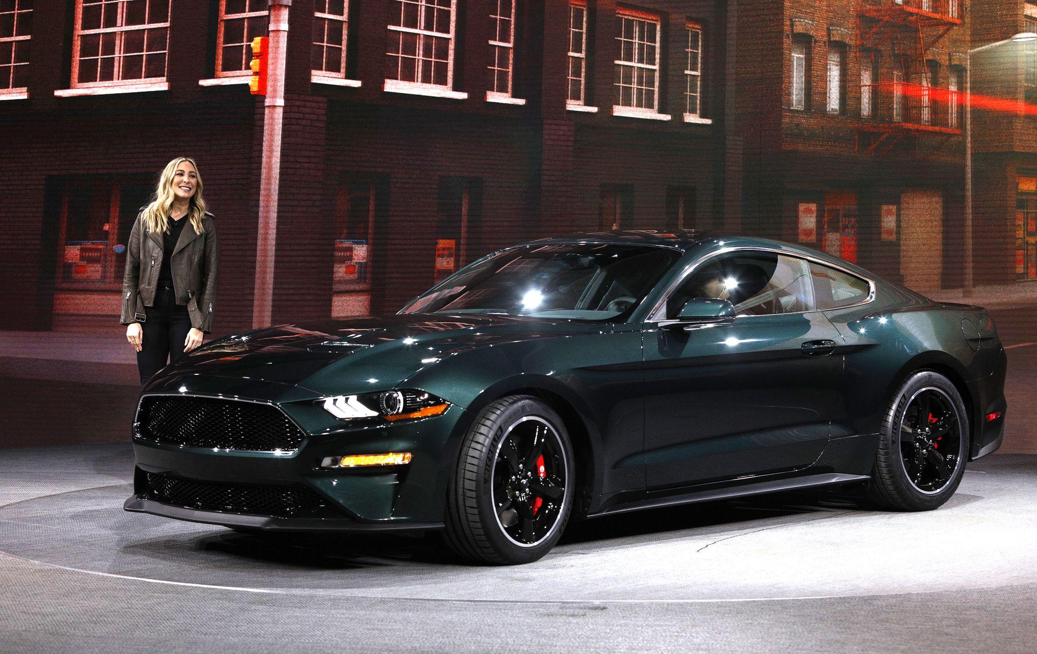 Ford unveils 2019 Mustang Bullitt, inspired by Steve McQueen film