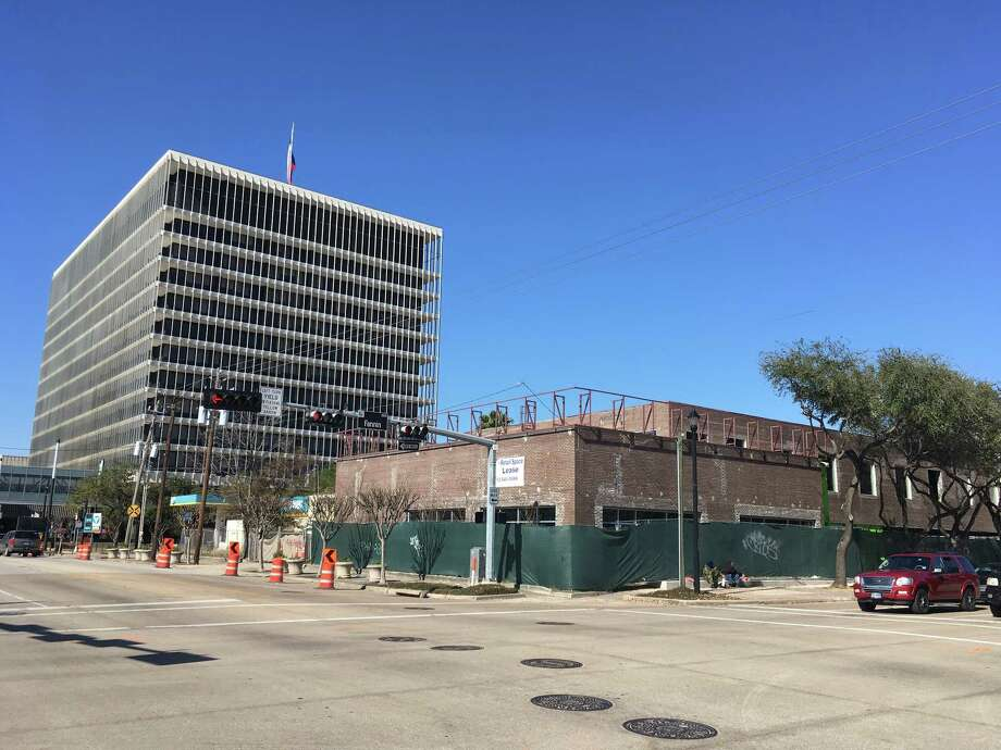 Braun Enterprises is renovating 3100 Fannin with retail on the ground floor and offices above. Braun will move its headquarters there later this year. Photo: 3100 Fannin / Houston Chronicle