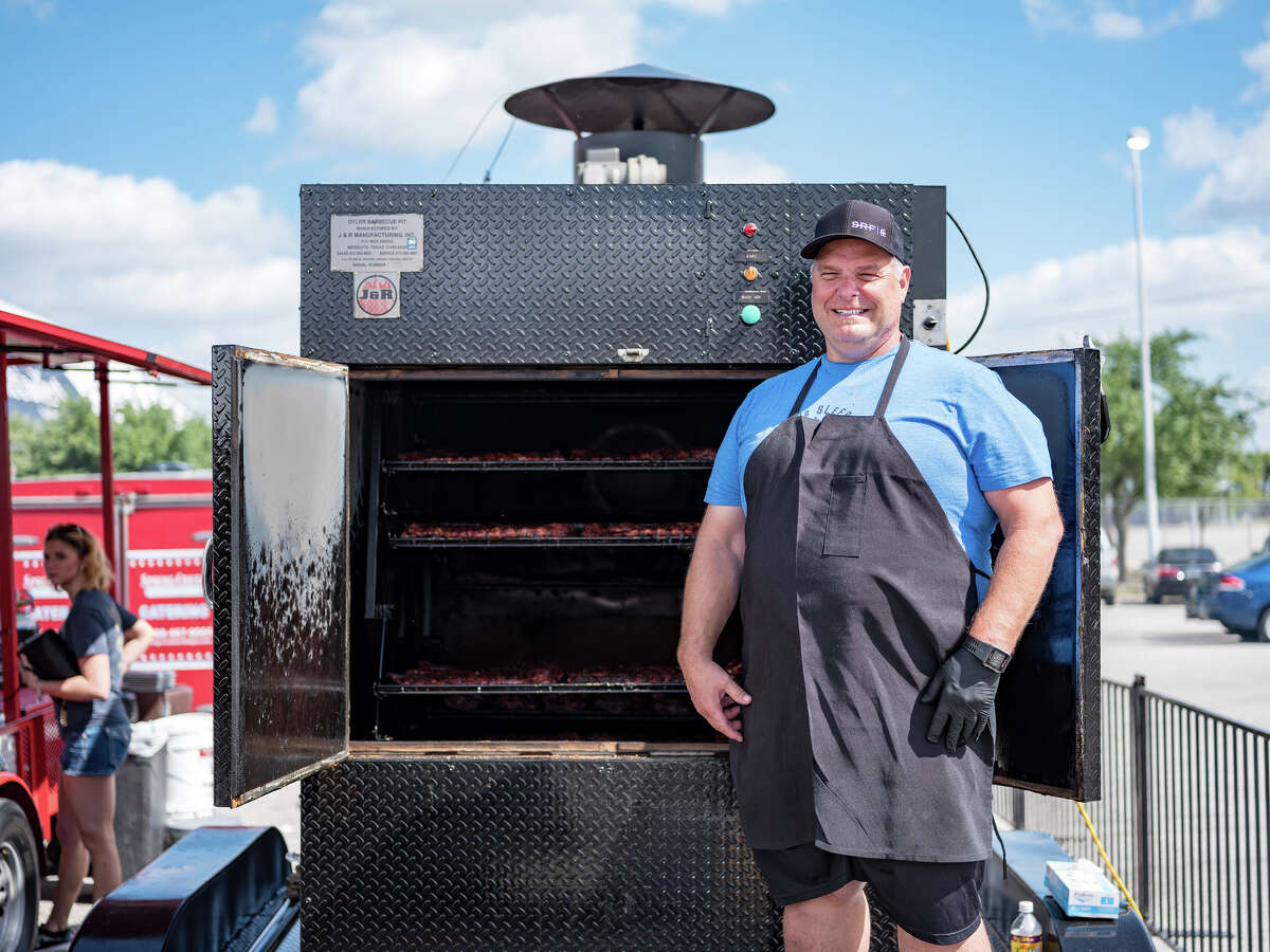 Ronnie Killen of Killen's Barbecue at the 2017 Houston Barbecue Festival. The 2018 Houston Barbecue Festival will be held April 15 at Humble Civic Center.
