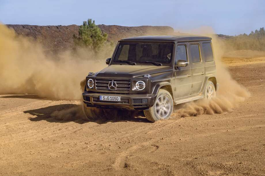 The 2019 Mercedes-Benz G550 Photo: Mercedes-Benz