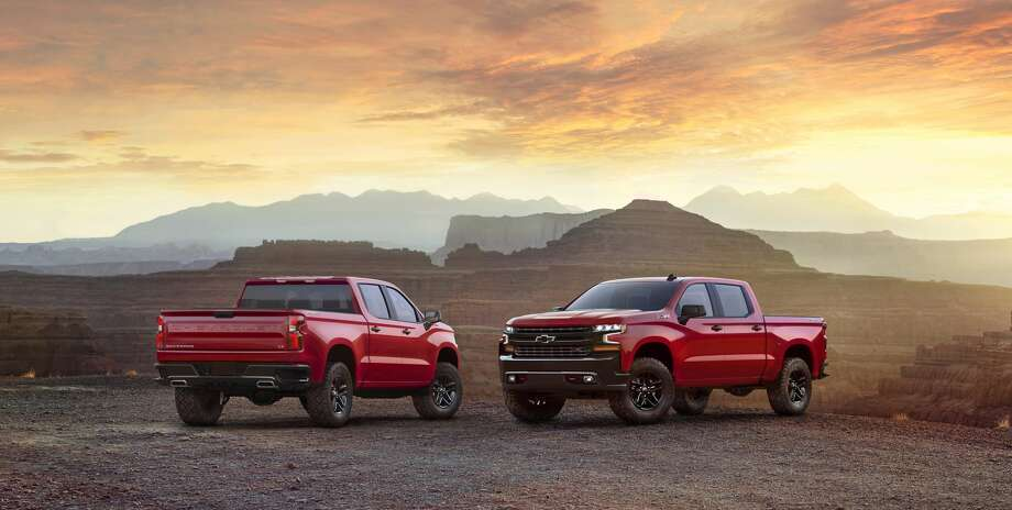 The all-new 2019 Chevrolet Silverado LT Trailboss (new trim for 2019) adds off-road equipment to the LT, including a 2-inch suspension lift and the Z71 Off-Road Package, including locking rear differential, skid plates, Rancho shocks, 18-inch wheels and Goodyear Duratrac off-road tires. Photo: Chevrolet