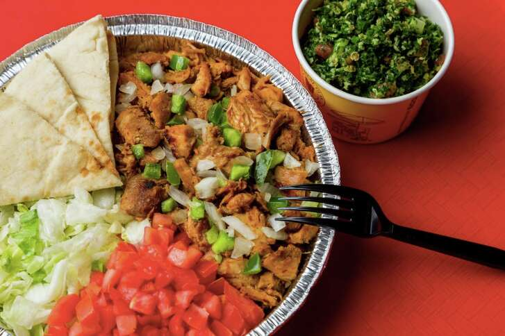 For a limited time the Halal Guys will offer spicy barbecue chicken Feb. 12-25.