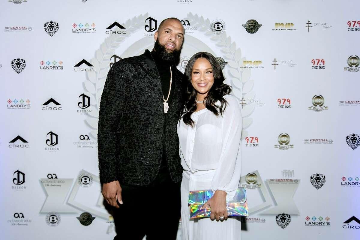 Slim Thug and Lisa Raye