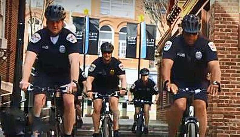 A still from a Danbury Police Department promotional video. Photo: Danbury Police Department