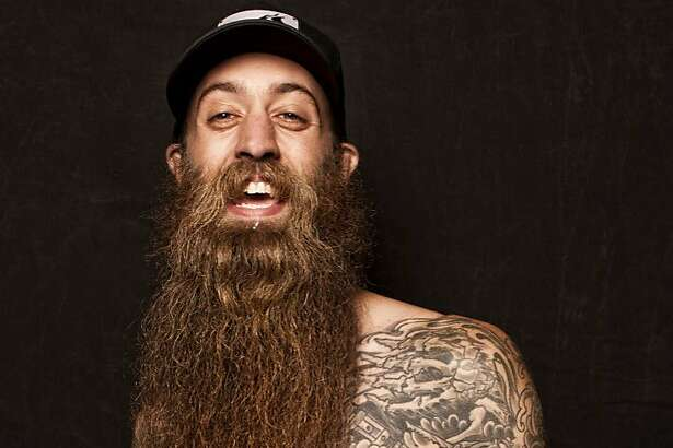 Well manicured beards and mustaches for the championship bearding competition.