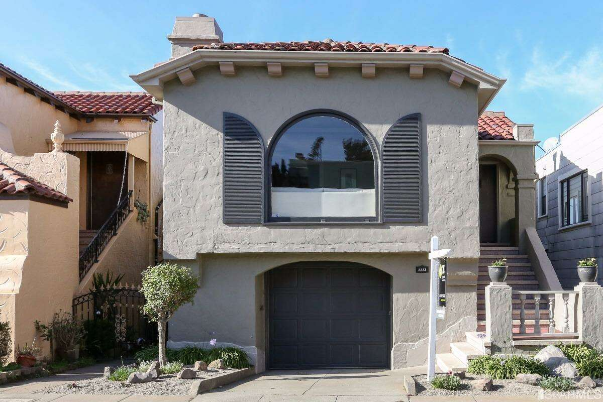 1. The highest overbid or a single family home so far this year is this Parkside home, a 2 bed, 1.25 bath of 1325 square feet. Asking: $1.1M; closed at $1.61M. Photos courtesy Paragon/SFARMLS