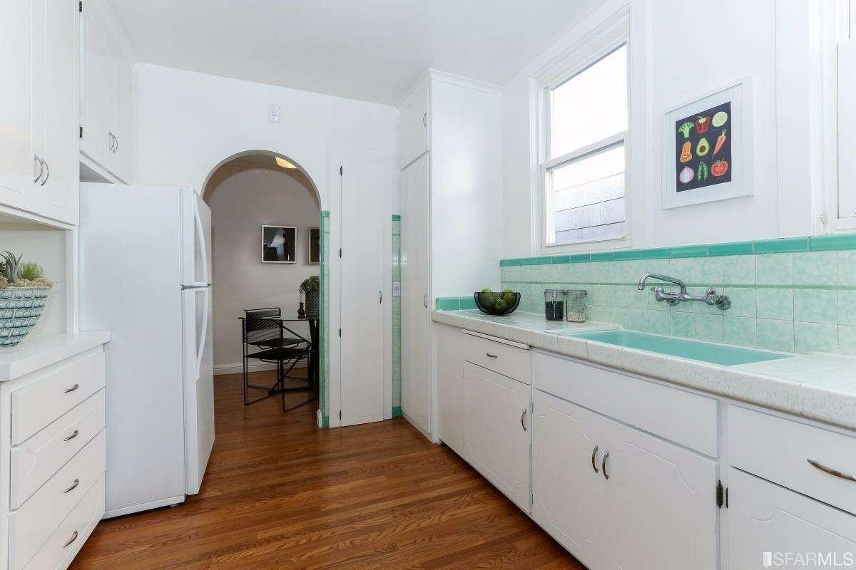 Very original looking kitchen. Photos courtesy Paragon/SFARMLS