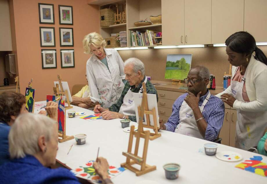 Engaging in the arts is beneficial to participants in the Amazing Place day program.