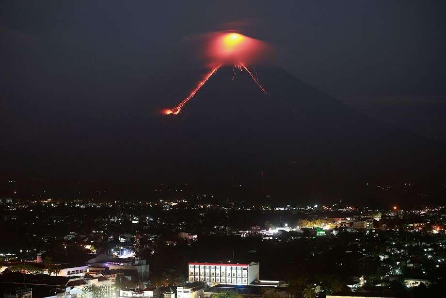 Thousands Evacuate as Philippine Volcano Spews Ash; 'Hazardous Eruption' Possible