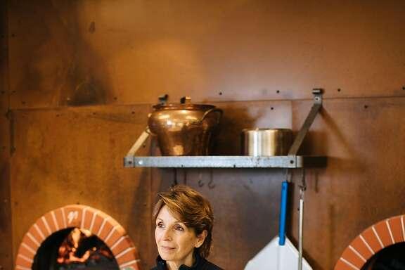 Andrea Mugnaini photographed in the kitchen of Mugnaini in Healdsburg, Calif. Thursday, Jan. 11, 2018.