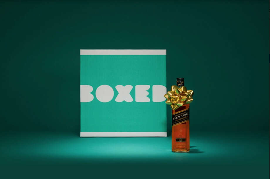 Boxed, a grocery delivery service, has begun delivery of spirits to customers in California. Photo: Courtesy Of Boxed