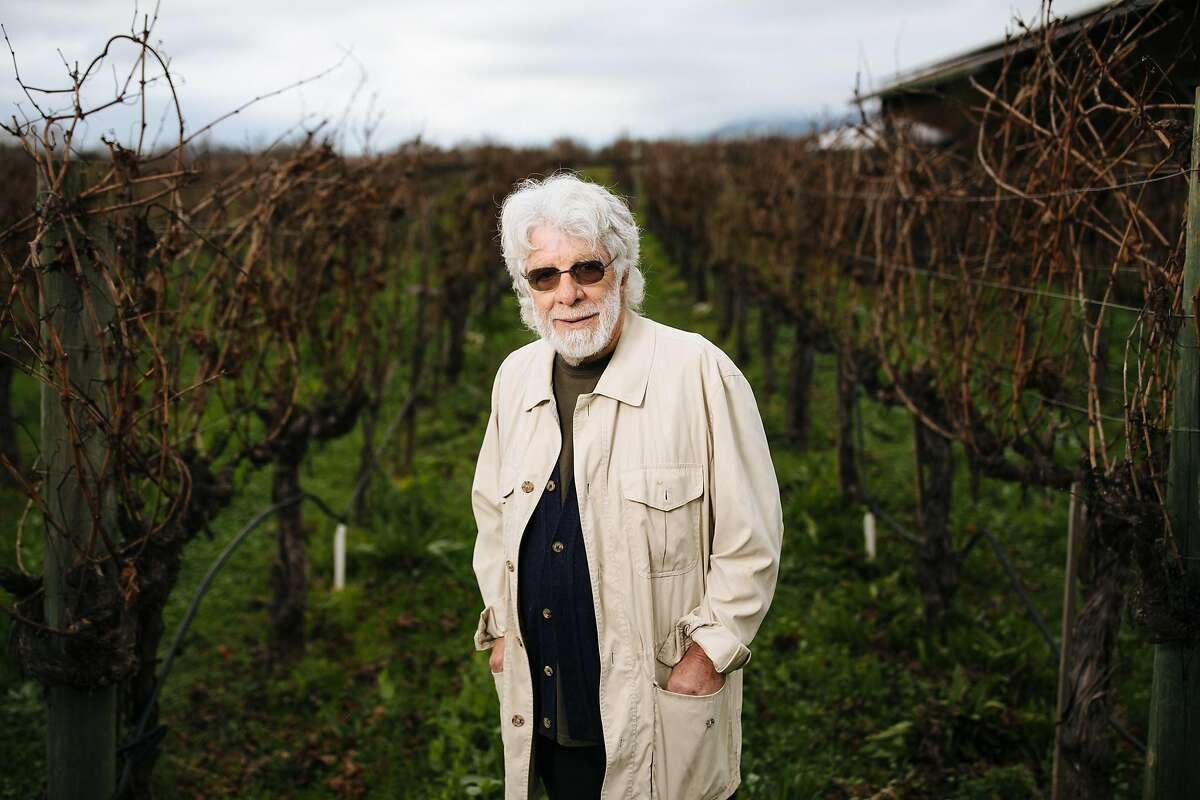 David Fechheimer photographed at this vineyard in Healdsburg, Calif. Thursday, Jan. 11, 2018.