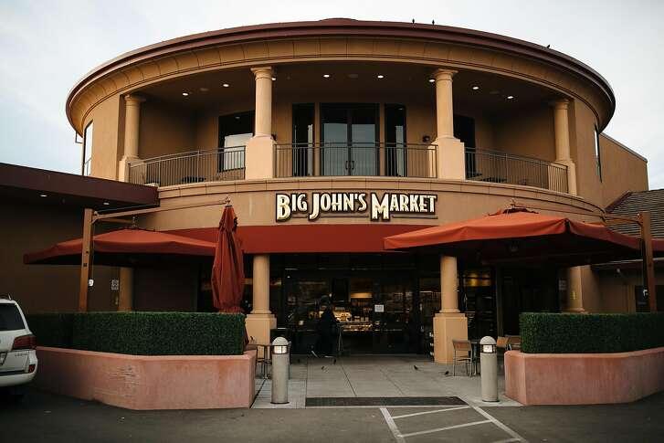 Big John's Market photographed in Healdsburg, Calif. Saturday, Jan. 13, 2018.