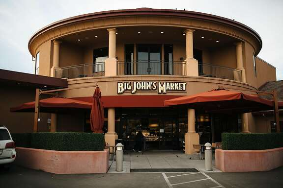 Big John's Market photographed in Healdsburg, Calif. Saturday, Jan. 13, 2018.