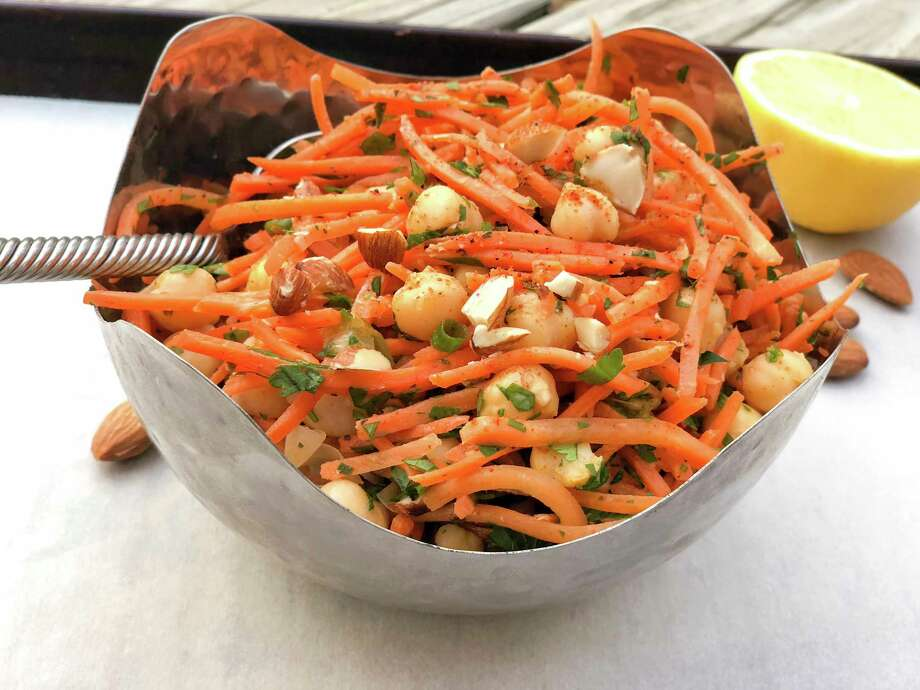 North African carrot and chickpea salad Photo: Melissa D'Arabian, UGC / Melissa d'Arabian