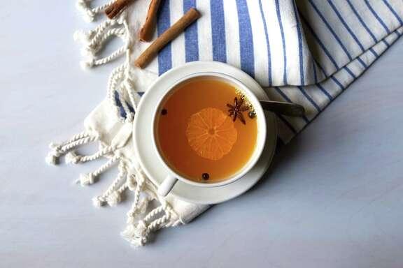 Spiced Merry Mandarin Cider
