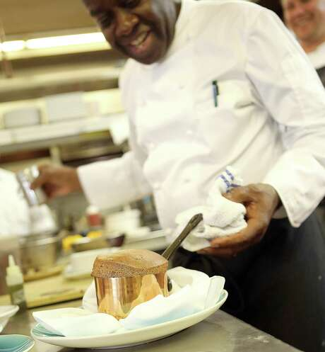 François Kwaku-Dongo is the new executive chef for New Canaan's historic Roger Sherman Inn. Photo: Sandro Art & Photograph / Contributed Photo / Sandro Art & Photography LLC