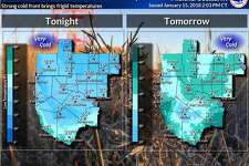 Winter is returning as an Arctic cold front plows through West Texas and southeast New Mexico Monday afternoon and tonight. Lows will be in the teens and 20s for Monday tonight, and highs will barely make it above freezing Tuesday. Bring in pets as wind chills will be harmful to them.