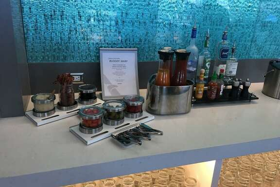American Airlines recently opened a new lounge at Los Angeles International Airport that includes a Bloody Mary bar.